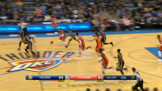 Steal of the Night - Russell Westbrook
