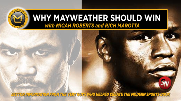 Why Floyd Mayweather should win...