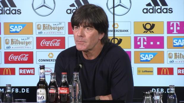 "Löw über Debütant Werner: ""Sehr engagiert"""