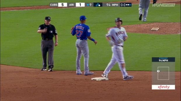 Contreras nabs Goldy to end game