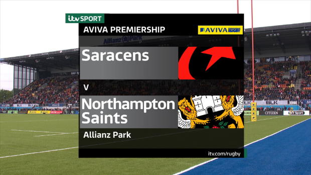 Aviva Premiership - Match Highlights - Saracens v Northampton Saints