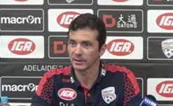 Guillermo Amor and Ben Garuccio speak to the media ahead of the Reds' match against Perth Glory in Round 19.