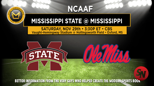 Mississippi State Bulldogs @ Ole Miss Rebels