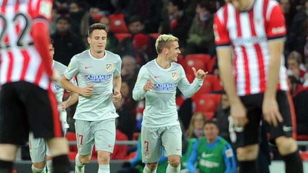 Antoine Griezmann a fait basculer la rencontre face à Bilbao (1-4) avec un triplé qui lui vaut logiquement les félicitations de son entraineur, Diego Simeone.