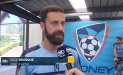Sydney FC skipper Alex Brosque has labelled his side's win over Wellington one of their best this season.