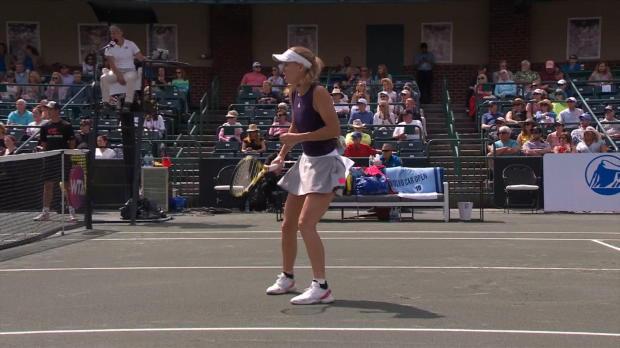 : Charleston - Wozniacki rejoint Martic en demi-finales
