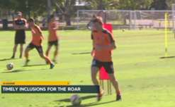 Brisbane Roar are set to welcome back midfielder Brett Holman from a knee injury this weekend.