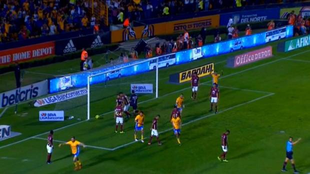 لقطة: كرة قدم: زيلارايان يسجّل هدفا مذهلا لتيغريس