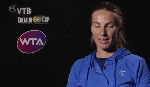 Kuznetsova Interview: WTA Moscow Final