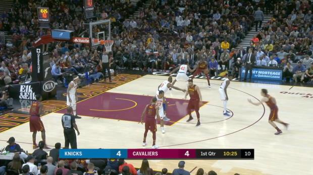 GAME RECAP: Knicks 110, Cavaliers 98