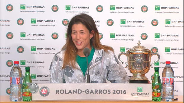 "French Open: Muguruza: ""Werde Titel genießen"""