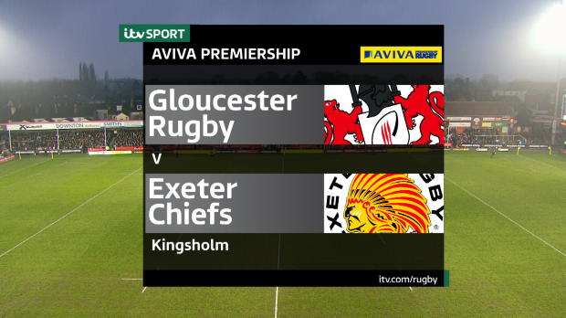 Aviva Premiership - Match Highlights - Gloucester Rugby v Exeter Chiefs
