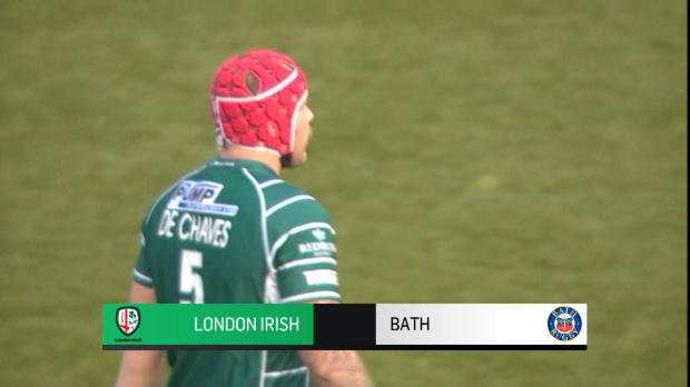 Aviva Premiership : Aviva Premiership - Match Highlights - London Irish v Bath Rugby