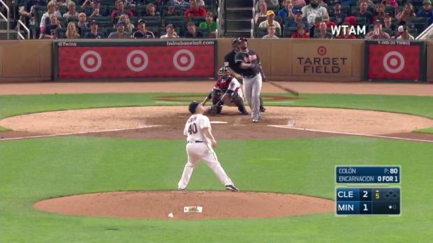 Twins vs. Indians: Salazar und Santana dominant