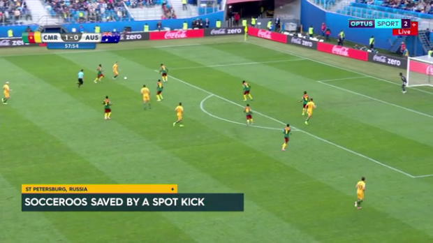 Socceroos, Cameroon all square