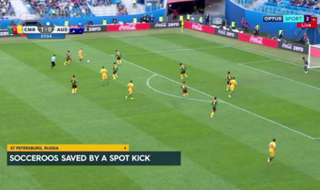 The Caltex Socceroos remain alive at the Confederations Cup after securing a 1-1 draw with Cameroon on Friday.