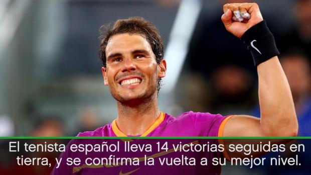 Nadal supera a Djokovic por primera vez desde 2014, y se mete en la final