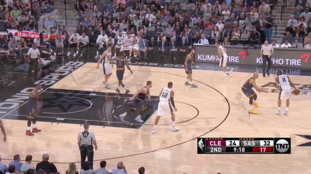 WSC: Highlights: Kawhi Leonard (25 points) vs. the Cavaliers, 3/27/2017
