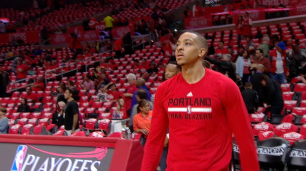 C. J. McCollum Scores 27 to Lead Trail Blazers Past Clippers