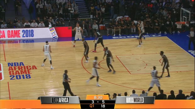 NBA Africa Game Recap: Team World 96, Team Africa 92