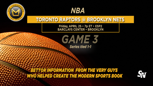 Raptors @ Nets Game 3