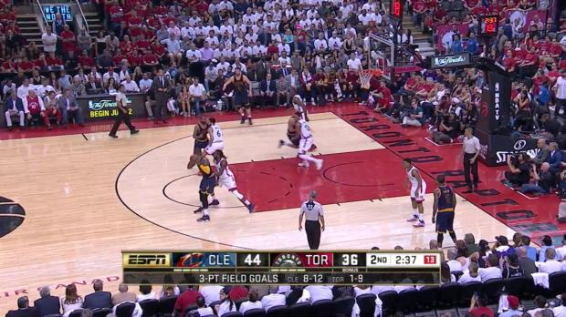 WSC: Kyrie Irving mit 30 Punkten gegen Raptors (Spiel 6)