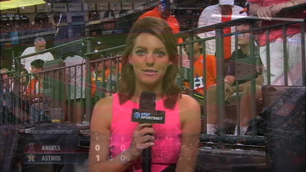 Astros booth on McCullers Jr.