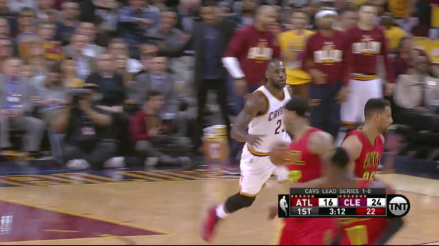 WSC: J.R. Smith with 7 3-pointers against the Hawks