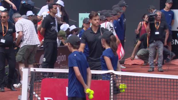 ATP Lyon 250 Finale Thiem - Simon