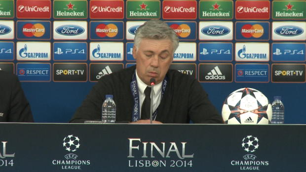 LDC - Finale, Real Madrid, Ancelotti : 'Ce but nous a donn� beaucoup de force'