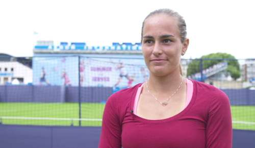 Puig Interview: WTA Eastbourne QF