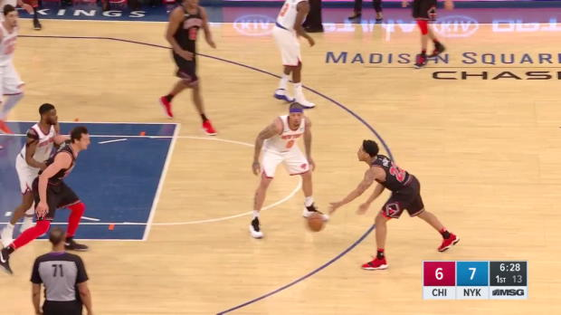 WSC: Paul Zipser (7 points) Highlights vs. New York Knicks