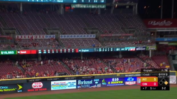 Casali's 2-run home run