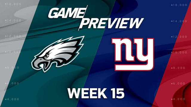 Philadelphia Eagles vs. New York Giants preview | 'NFL Playbook'