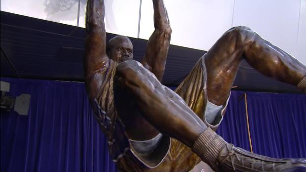 La estatua de Shaquille O