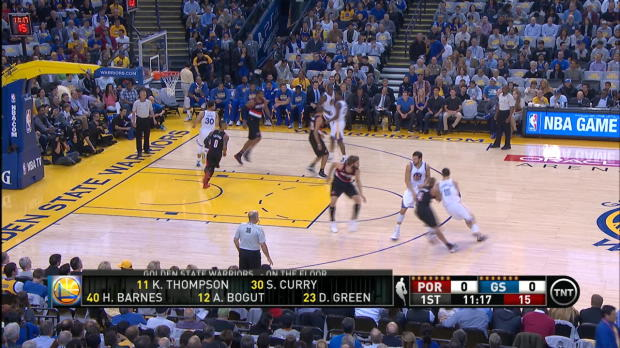 Dunk of the Night: Andrew Bogut