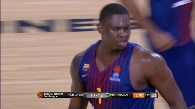 Basket : Euroligue (1ère j.) - Séraphin, meilleur marqueur de Barcelone