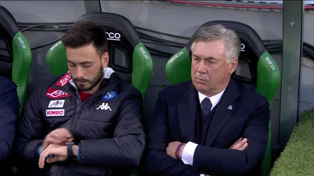 Serie A: Sassuolo - Neapel   DAZN Highlights