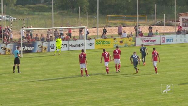 4. Liga: Elfer gehalten! Rössl rettet FCB II