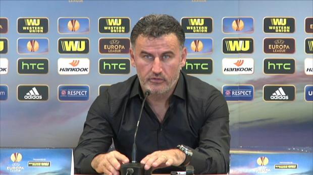En marge de la rencontre face à Qarabag (1-1), l'entraineur de l'AS Saint-Etienne a vertement critiqué le président du tribunal de Paris, qui a condamné Brandao à un mois de prison ferme.
