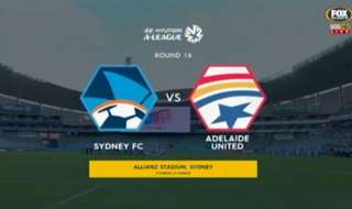 Two goals in two minutes in the second half saw Sydney FC beat Adelaide United 2-0 at Allianz Stadium on Friday night.