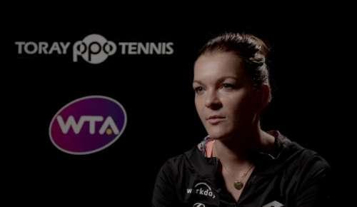 Radwanska Interview: WTA Tokyo QF