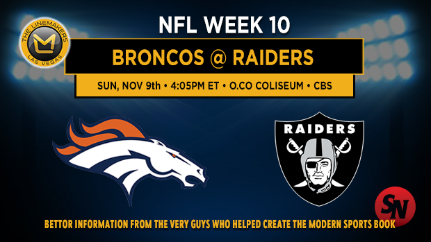 Denver Broncos @ Oakland Raiders