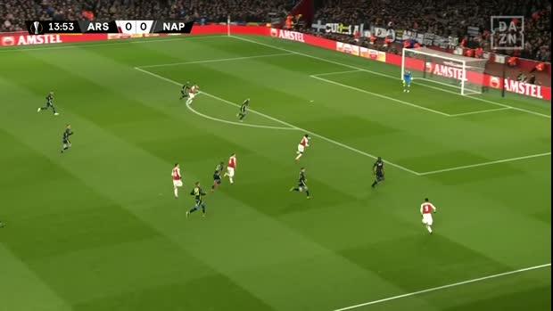 EL: Arsenal mit Spielaufbau aus dem Lehrbuch zum 1:0 | Europa League Highlights