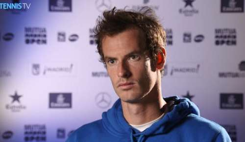 Murray Interview: ATP Madrid SF