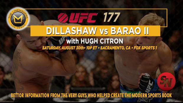 UFC 177 Dillashaw Vs. Barao II