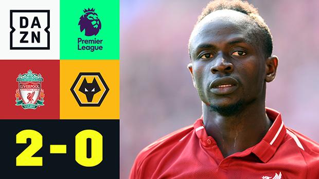 Premier League: Liverpool - Wolverhampton | DAZN Highlights