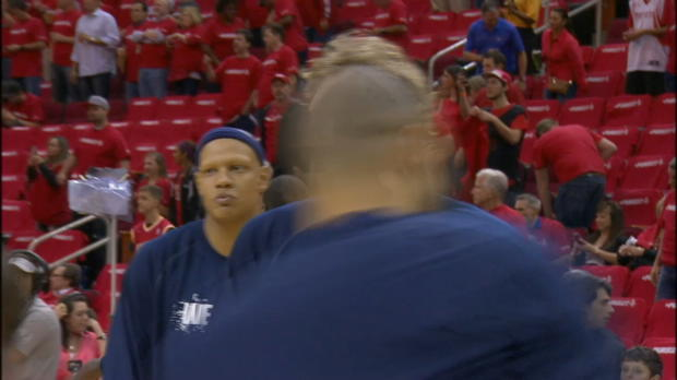 Rockets vs. Mavericks Game 1