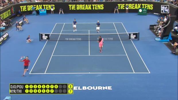 Tie Break Tens: Trickreiches Doppel mit Thiem