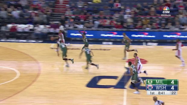 WSC: John Wall with 11 assists against the Bucks